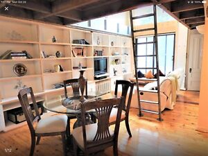 All included & furnished New York style loft