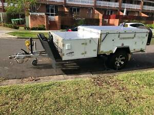 2017 Blue Tongue Camper Trailer in excellent condition