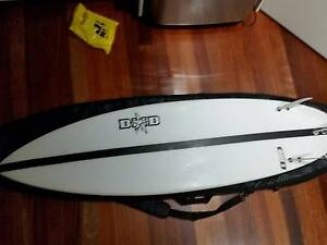 DHD SURFBOARD  COVER FINS Bexley North Rockdale Area Preview