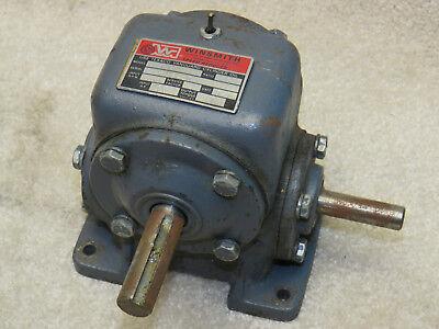 Winsmith 1cb Worm Gear Speed Reducer 101 Ratio 1800rpm Input 172 Output Torque