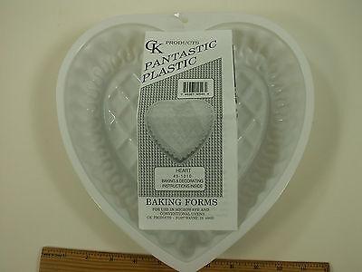 """Pantastic Pan """"FANCY HEART"""" Cake Baking Form- Make Cakes, Jellos at Home! USA!"""