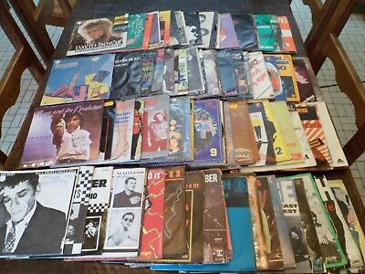"Lot de 100 Disques / Vinyles - 7"" - 45 tours Anglais - English - 5 photos - (21)"