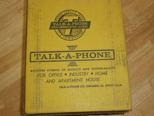 Talk-A-Phone KCL-5 Master Intercom,NIB/NOS