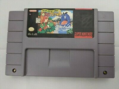 Authentic Super Mario World 2: Yoshi's Island (Super Nintendo 1995 SNES)