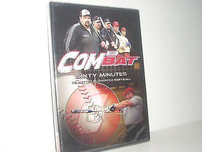 Rare NIW Combat Sixty Minutes To Better Slowpitch Softball Bat DVD Best Slow Pitch Softball Bat