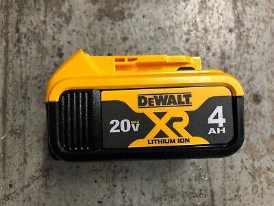 NEW Dewalt DCB204 20V Max Premium XR Li-Ion Battery Pack