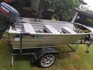14ft tinnie with 30 HP yamaha Cooranbong Lake Macquarie Area Preview