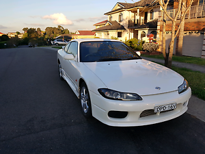 Nissan 200SX S15 Spec R ~ Pearl White ~ Sunroof ~ Long Rego Glenwood Blacktown Area Preview