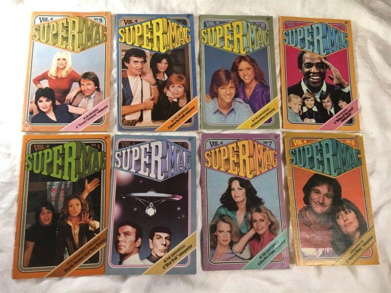 Supermag Magazine Xerox Corporation 1980s Volume 4 & 3 Lot of 8