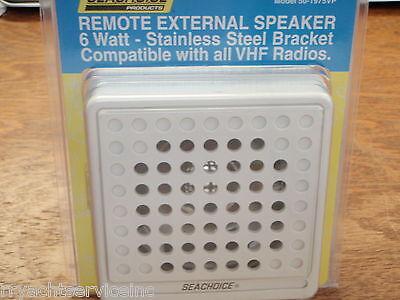 VHF SPEAKER WHITE SEACHOICE 19751 5X5 MARINE ELECTRONICS BOATINGMALL EBAY STORE