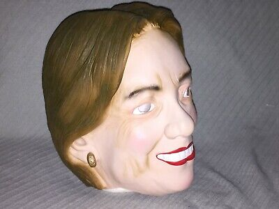 Hilary Clinton Rubber Mask by Larp Gears Halloween Party Political Rubber Mask](Clinton Halloween Party)