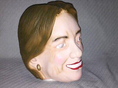 Hilary Clinton Rubber Mask by Larp Gears Halloween Party Political Rubber - Clinton Halloween Party