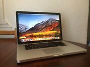 """Apple MacBook Pro 15"""" 2.2GHz i7 500GB HDD 4GB RAM Late 11 Office Adobe Yeronga Brisbane South West Preview"""