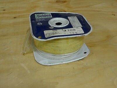 Belden 83265 Coaxial Cables 30AWG 1C SHIELD 100ft SPOOL WHITE ()