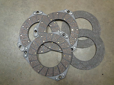 Clutch Disc Set For John Deere 80 820 830 Double Sided Disc And Floating Disc
