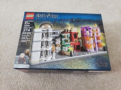 LEGO 40289 Harry Potter Diagon Alley Micro Brand New Sealed