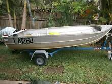 clark tinnie 12ft vgc no welds or dings  no pop rivits.. Buderim Maroochydore Area Preview