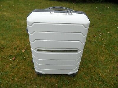 Samsonite flux expansible spinner cabin size suitcase