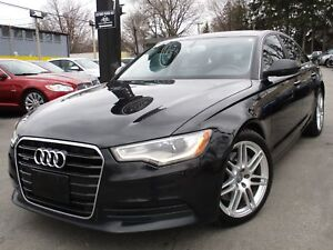 2014 Audi A6 TDI PROGRESSIV ~ NAVIGATION ~ 126KMS ~ SUNROOF !!!