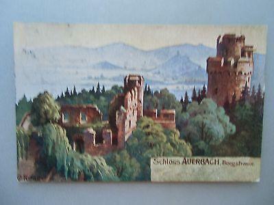 Ansichtskarte Schloss Auerbach Bergstraße um 1910?