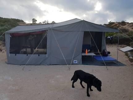 Red Rock Delux Camper Trailer Hard Floor Encounter Bay Victor Harbor Area Preview