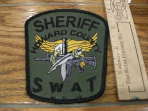 Howard Co Indiana Sheriff SWAT Police patch IN