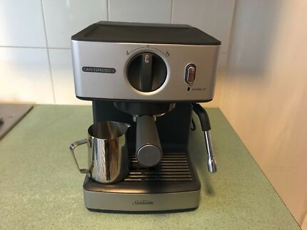 Sunbeam espresso machine coffee machines gumtree australia new sunbeam espresso coffee machine fandeluxe Gallery