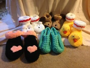 Clearance on Home knit and crochet items