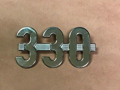 Ih International Harvester 330 Emblem  Ih 368491r1