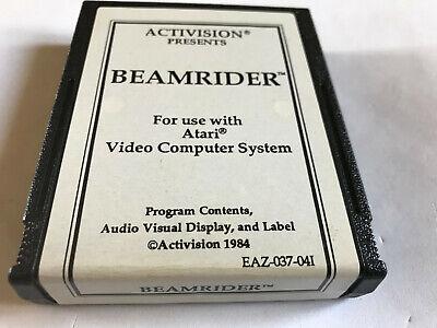 Beamrider / Rare / Activision / Cart Only / Atari 2600 / Tested & Working