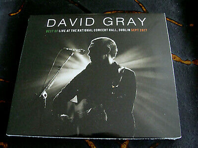 Slip CD Double: David Gray Best Of Live At The National Concert Hall Dublin (Best Concert Hall Acoustics)