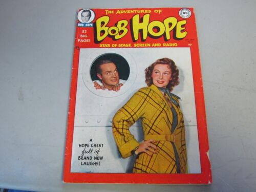 The Adventures of Bob Hope #2 Comic Book 1950   Photo Cover