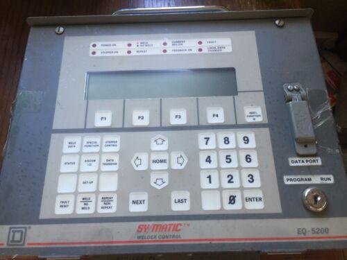 SCHNEIDER ELECTRIC WELDER CONTROL EQ-5200 FORM S20 8995EQ5200DEP10