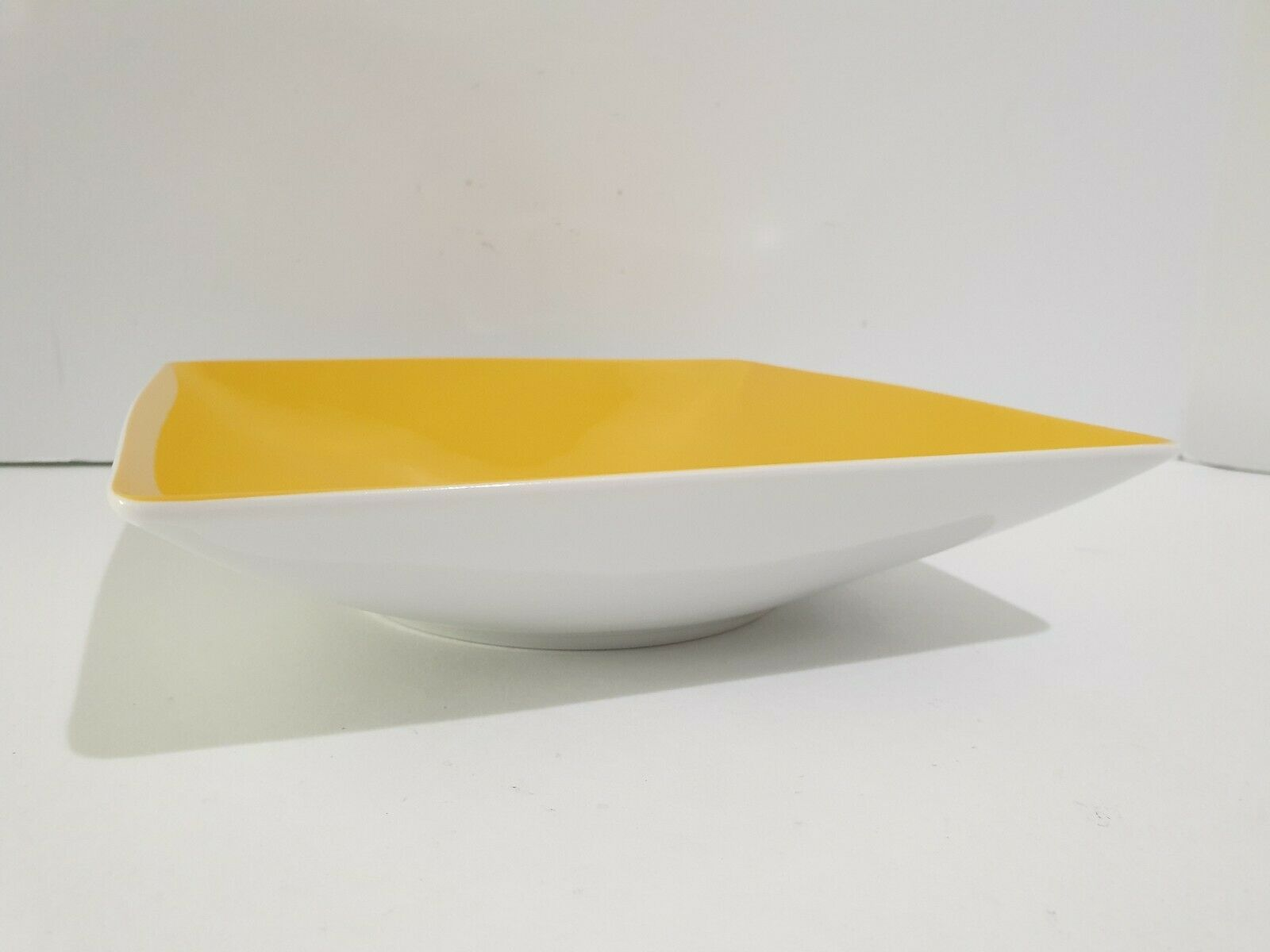 Thomas Rosenthal Sunny Day Square Soup Bowl - Sunflower Yellow - $34.96