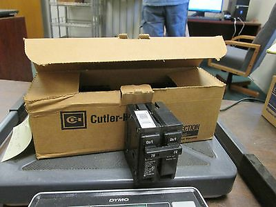Cutler-hammer Br Circuit Breaker Br270 120240v 2p Box Of 5 New Surplus