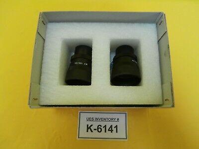 Mitutoyo 378-856 Wf 10x24 Microscope Eyepiece Set For Finescope Used Working