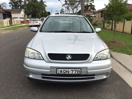 2003 Holden Astra TS City Hatchback Manual 6months Rego Low Kms