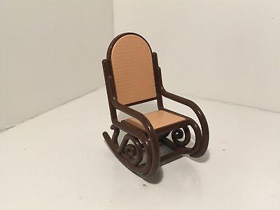 Vintage Tomy Dollhouse Furniture Rocking Chair #15