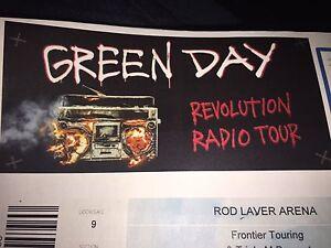 Green Day ticket Darwin CBD Darwin City Preview