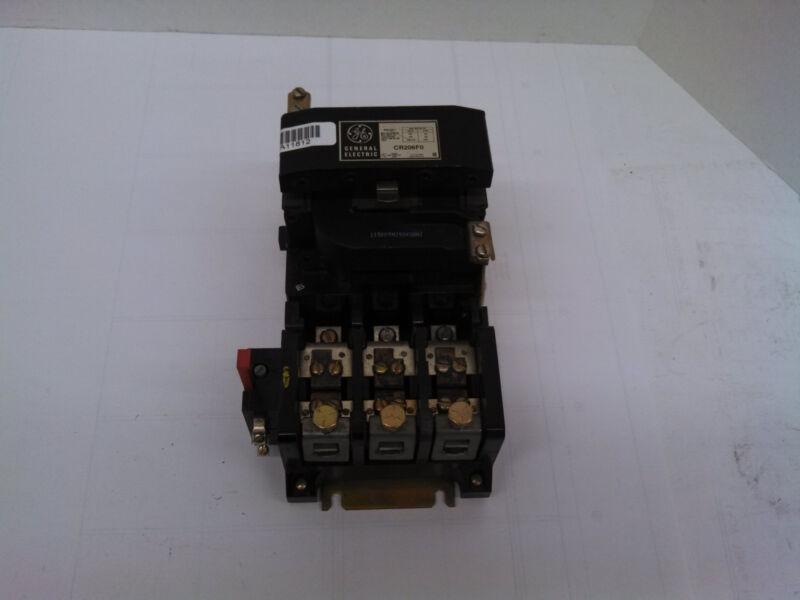 GE General Electric CR206F0 Magnetic Motor Starter NEMA 4 100 HP 460/575 VAC