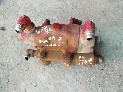 Farmall Ihc 656 Rc Utility Tractor Ih Power Steering Assist Flow Valve