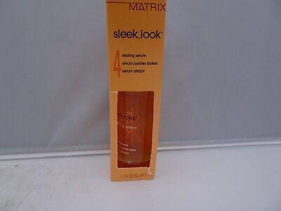 Matrix Sleek Look 4 Sealing Serum 1.7 oz Each Lot Of 2 Matrix Sleek Look Sealing Serum