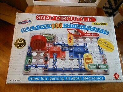 Snap Circuits Jr. SC-100 Electronics Discovery (Snap Circuits Jr Sc 100 Electronics Discovery Kit)