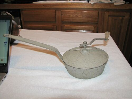 Vintage Coffee Bean Roaster Stovetop