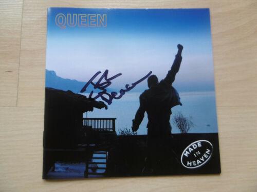 "John Deacon ""Queen"" Autogramm signed CD Booklet ""Made In Heaven"""