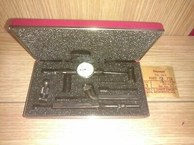 Starrett Last Word No.711 Indicator Set With Case Reads .001