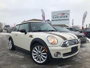 2010 MINI Cooper MAYFAIR EDITION --6 SPEED--