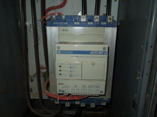 Telemecanique ATS23C10N Altistart 3 Soft Starter 75HP 105A 3ph 460V Used