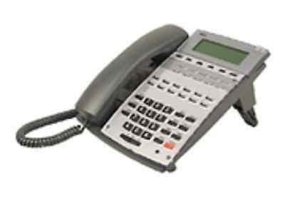 Ten Refurbished Black NEC Aspire 22 Button Display Phones, (Black 22 Button Display)
