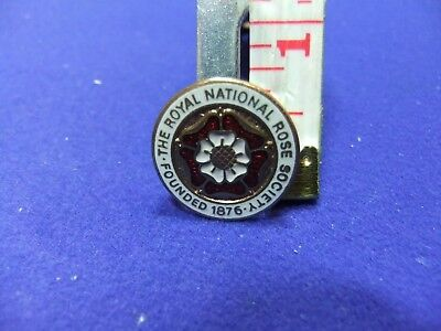 vtg badge national rose society founded 1876 horticulture membership member